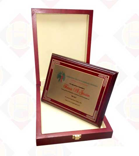 Sublimation Wooden Award